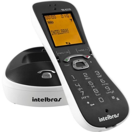 TELEFONE SEM FIO INTELBRAS TS 8220 DECT 6.0, VIVA VOZ
