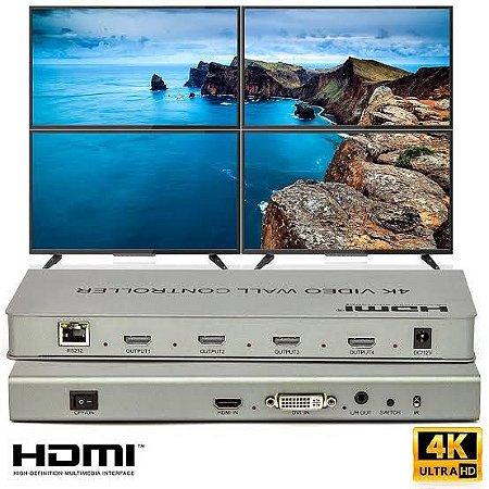 Video Wall Full Hd Controller 2x2 4K