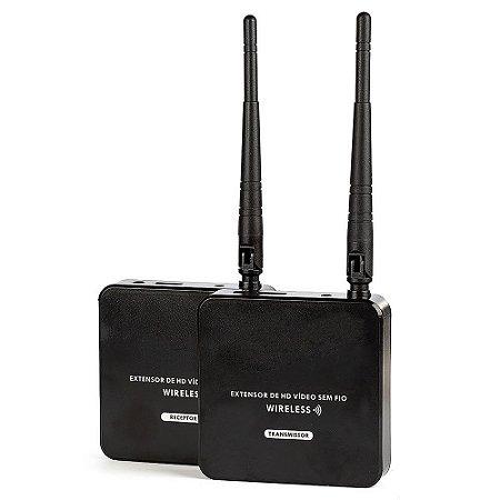 Extensor HDMI sem Fio Wireless - 1080p