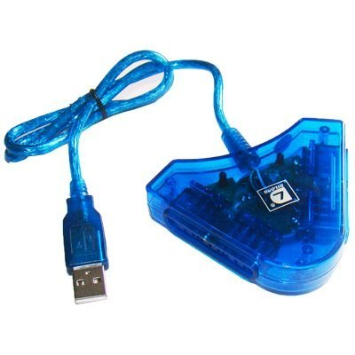 Adaptador USB para ligar 2 controles de PlayStation no PC