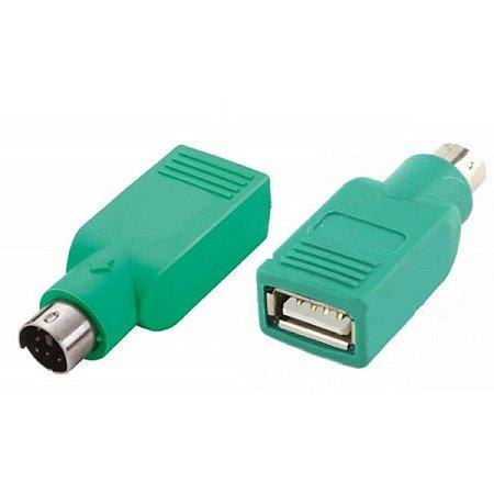 Adaptador USB Fêmea PS2 Macho para Mouse