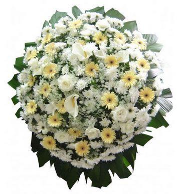 Coroa de Flores Platina