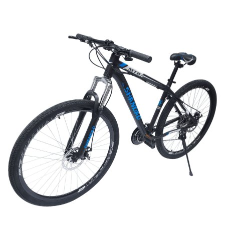 Bicicleta Aro 29 21 Velocidades Freio À Disco Mecânico - Azul - Mostruário