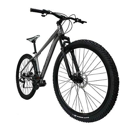Bicicleta MTB Alfameq Aro 29 Soft 24 Marchas Freio a Disco