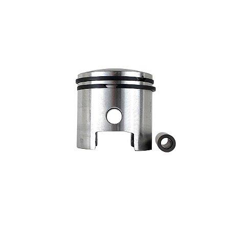 Pistão de Biela Baixa e Anéis SMX para Bicicleta Motorizada 80CC 47mm Alumínio
