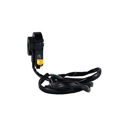 Interruptor Botão Desliga SMX para Bicicleta Motorizada Compatível com 49cc até 80cc