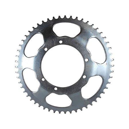 Coroa MGL para Mobilete 54 Dentes em Aço Coroão Utilizada com Corrente de 415h e 420h