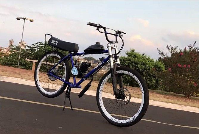 Bicicleta Motorizada Modelo Higor46 Cabeças Bikes Tipo 80cc 2T Aro 26