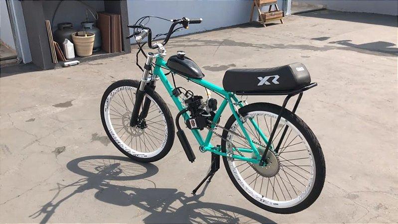 Bicicleta Motorizada Modelo ViniDaMotorizada Cabeças Bikes Tipo 80cc 2T Aro 26