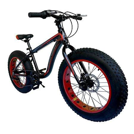 Bicicleta Aro 20 Fat Aliens XX Infantil Elleven 7v