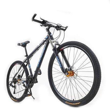 Bicicleta Aro 29 em Alumínio Shandao Freio Hidráulico