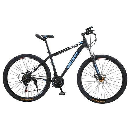 Bicicleta Aro 29 em Alúminio Shandão Freio Mecânico