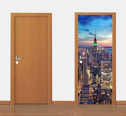 Adesivo para porta - Nova York  90X210 cm