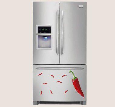 Adesivo de Cozinha - Pimentas 45x55cm