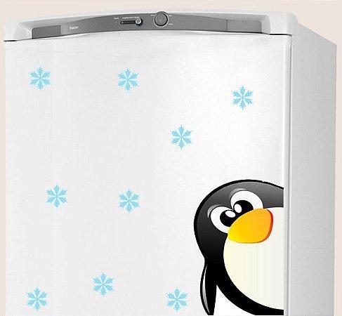 Adesivo de Cozinha - Pinguim  Baby  32x38 cm