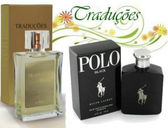 Traduções Gold Nº 7 Masculino concorrente Polo Black 100 ml