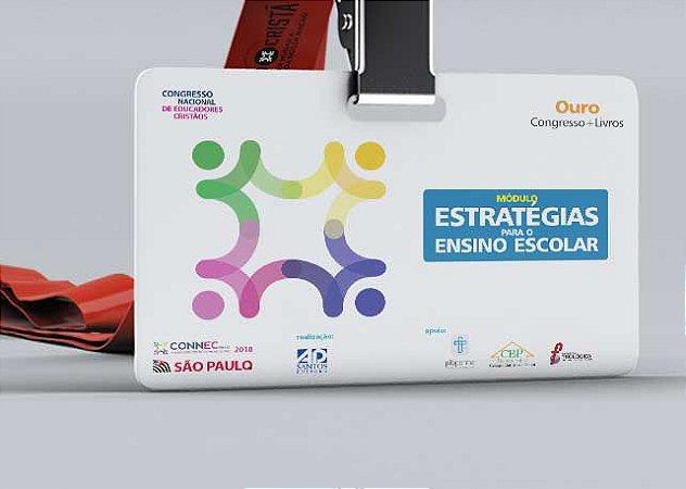 ESTRATÉGIAS para o ENSINO ESCOLAR | SÃO PAULO 2018 - OURO