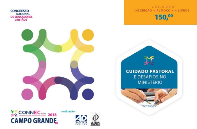 CUIDADO PASTORAL E DESAFIOS NO MINISTÉRIO - CAMPO GRANDE 2018 - OURO