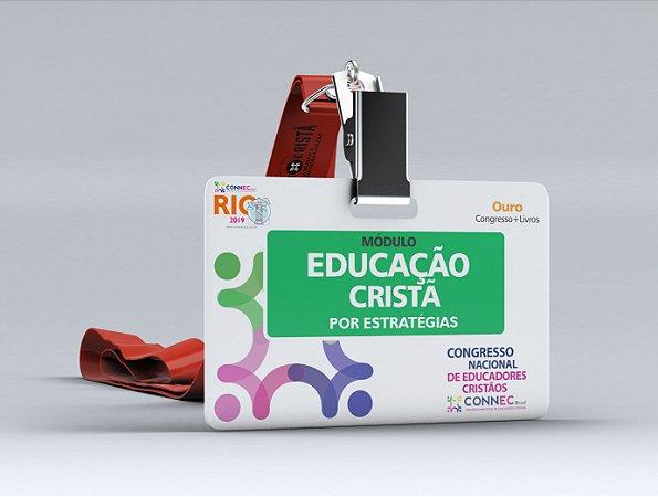 EDUCAÇÃO CRISTÃ por Estratégias - RIO 2019 - OURO