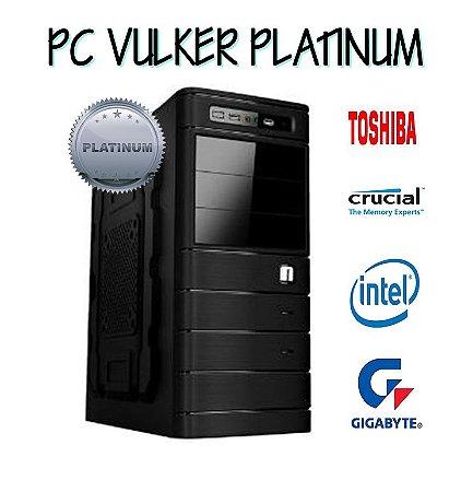 COMPUTADOR VULKER PLATINUM - INTEL I5 7400 - 8GB DE RAM DDR4 - 1 TB DE HD