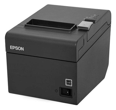 Impressora Térmica Não Fiscal TM-T20 USB Cinza Escuro - Epson