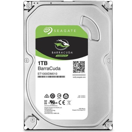 HD SEAGATE SATA 1TB 64MB 7200RPM BarraCuda 6Gb/S