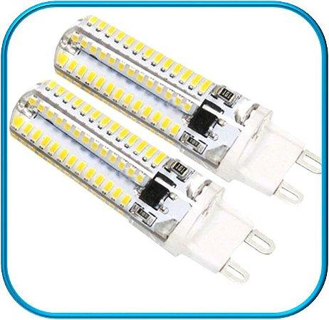 Lampada Bipino LED G9 3W 110V - Branco Quente