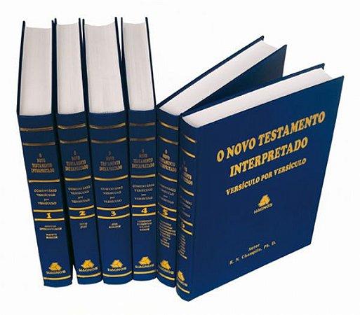 O Novo Testamento Interpretado -  6 Volumes - Capa Dura, usado em excelente estado