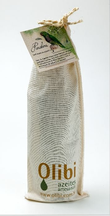 [Para presente] Azeite de oliva extravirgem artesanal Olibi - Safra 2019 (250ml)