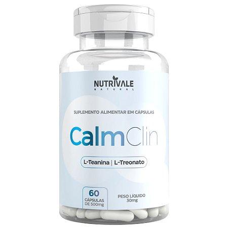CalmClin (L-Teanina com L-Treonato) Nutrivale 60caps