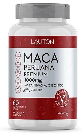 Maca Peruana Premium - 1000mg - 60 Comprimidos | Lauton Nutrition