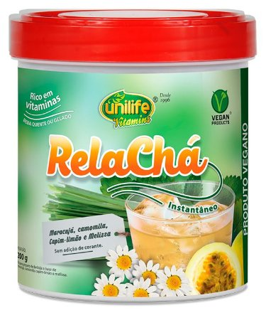 Rela chá Instantâneo Unilife - 220g