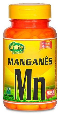 Manganes Quelado 60 Capsulas (500mg) - Unilife