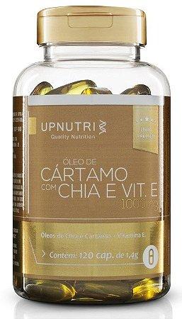 Óleo de Cártamo + Óleo de Chia + Vitamina E - 120 cápsulas - Upnutri