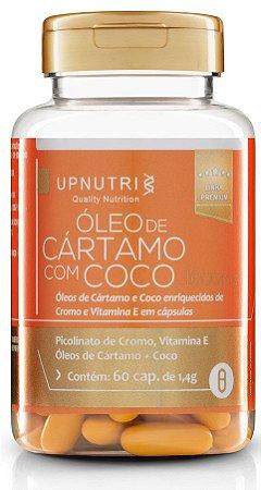 Óleo de Cártamo + Coco + Picolinato de Cromo + Vit. E (120 caps)