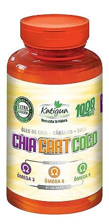 Oleo de Chia + Cartamo + Coco (Omega 3-6-9) de 60 Caps