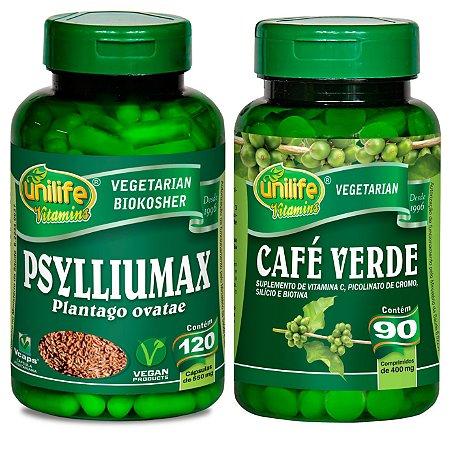 Fórmula Marita: Psyllium + Café Verde em Cápsulas