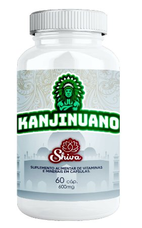 Kanjinuano - 60 cápsulas - Shiva Natural