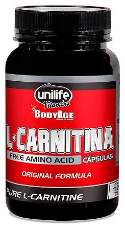 L-Carnitina Pura (120 caps) 570mg - Unilife