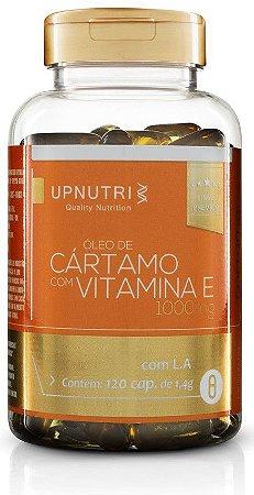 Óleo de Cártamo com Vitamina E (120 Caps) Upnutri