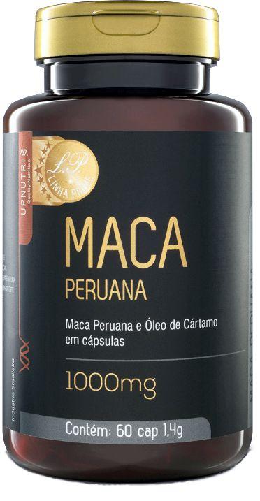 Maca Peruana com Cartamo Upnutri 60 Caps 1000mg