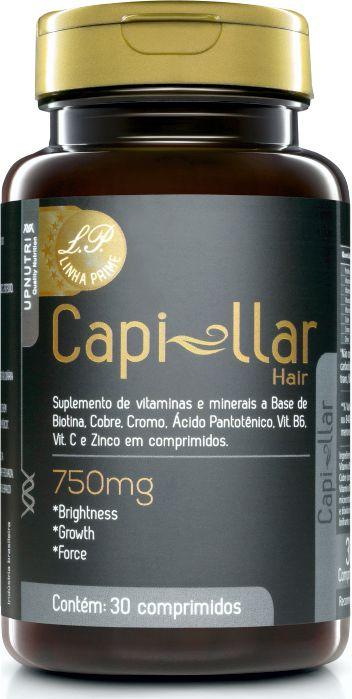 Capillar Hair (biotina) 30 Comp (750mg) Upnutri
