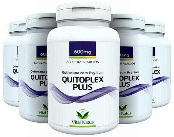 Quitoplex Plus Fórmula Quitoplan com 300 comprimidos VItal Natus