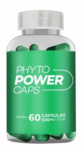 Phyto Power Caps - 60 Cápsulas - Alquimia Natural
