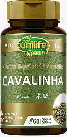 Cavalinha - Mu Zei MTC - 500MG - 60 CAPS - Unilife