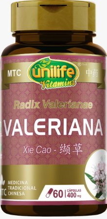 Valeriana - MTC - Xie Cao - 400MG - 60 CAPS