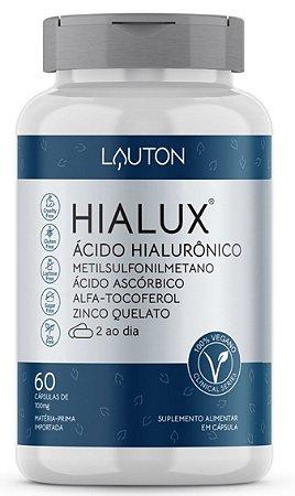 Hialux® - Ácido Hialurônico - 60 Cápsulas | Lauton Nutrition