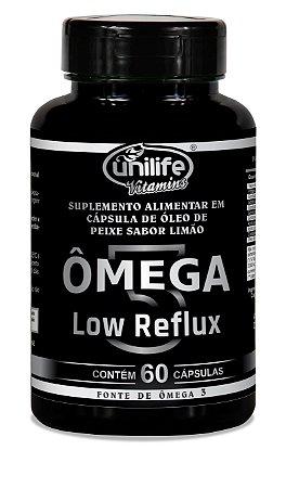 Omega 3 - Low Reflux - Sabor limão - 60 cápsulas