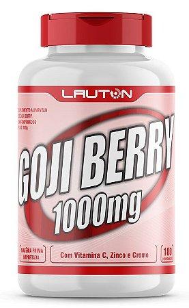 Goji Berry Pro com 1000mg - 180 Cápsulas - Lauton
