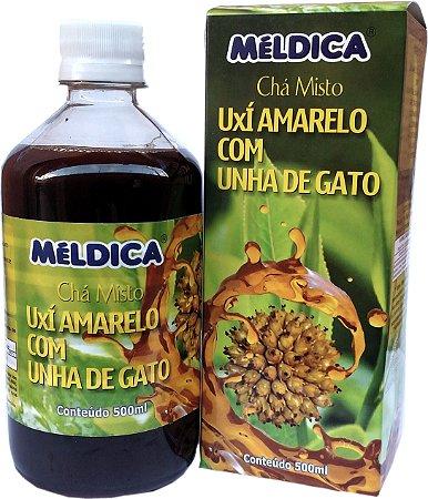 Chá Misto De Uxí Amarelo Com Unha De Gato 500ml - Méldica